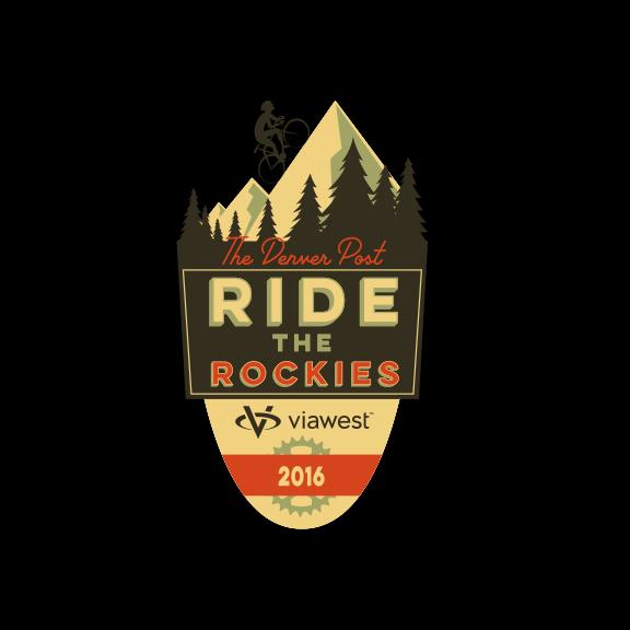 SALE-Logo Sticker- Ride The Rockies 2016